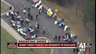 Senior center evacuated after bomb threat