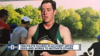 Person of the Week: Triathlete injured in accident defies odds, motivates others - Video