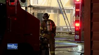 Remains found in building after Plymouth apartment fire - Video