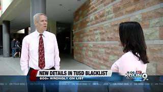 Rumored TUSD blacklist revealed after two decades