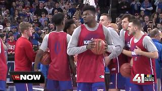 Azubuike's injury is a fluid situation; may play against Penn - Video