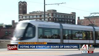 voting for streetcar board of directors - Video