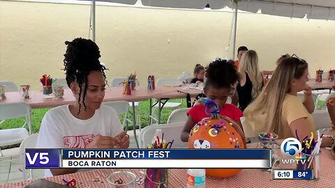 Boca Raton Pumpkin Patch Festival held this weekend