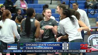 CSUB women's basketball team upset by winless Chicago State