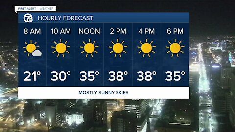 7 First Alert Forecast 4:30 a.m. Update, Friday, February 26