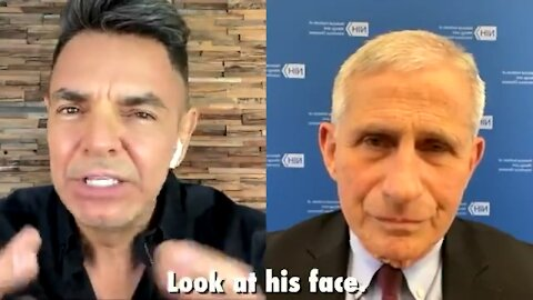 Dr Fauci gets grilled by Mexican comedian.