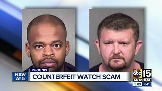 Counterfeit watch scam busted in Phoenix - Video