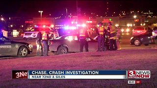 Police chase results in crash near 72nd and Giles