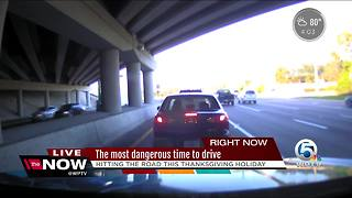 The most dangerous time to drive - Video