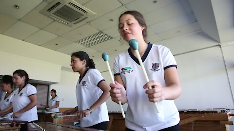 SOUTH AFRICA - Durban - Griffin girls marimba band (Video) (Rmx)