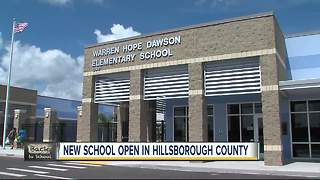 New school opens in Hillsborough County - Video