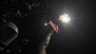 US Strikes On Syria Could Put Russian Troops Under Fire - Video