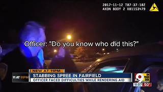 Stabbing spree at Fairfield nightclub - Video