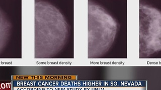 Breast cancer death rates high in Southern Nevada - Video