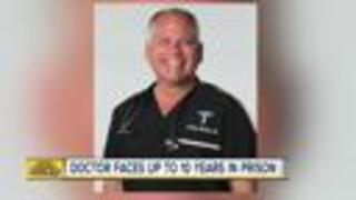 Doctor pleads guilty to receiving kickbacks - Video