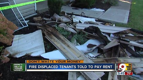 Why renters must pay even if fire displaces them