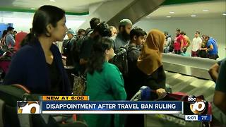 Refugees react to travel ban ruling
