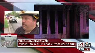Two people dead in Raytown house fire; five others escape - Video