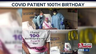 Woman Celebrates 100th Birthday at CHI Health