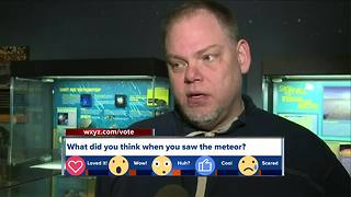 Cranbrook head of astronomy weighs in on meteor spotted over metro Detroit - Video