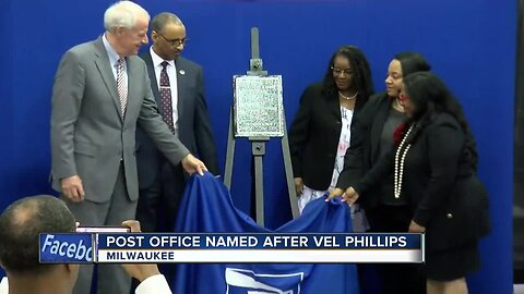 POST OFFICE NAMED AFTER VEL PHILLIPS