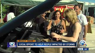Local effort to help people impacted by storms - Video