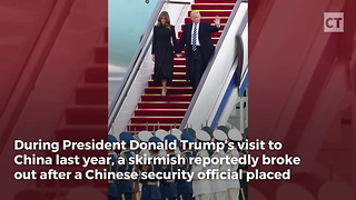Report: Chinese Security Ran Afoul of Secret Service