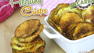How to make healthy zucchini crisps - Video