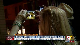 BLINK meant record numbers for streetcar, but also exposed ongoing struggles - Video