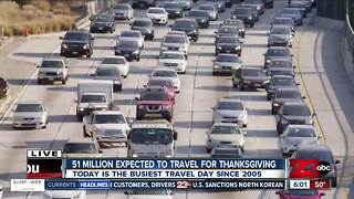 Nearly 51 million expected to travel for Thanksgiving - Video