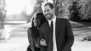 Prince Harry and Meghan Markle Reveal a First Glance Into Their Engagement Photos - Video