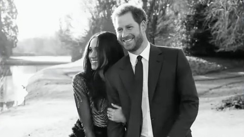 Prince Harry and Meghan Markle Reveal a First Glance Into Their Engagement Photos