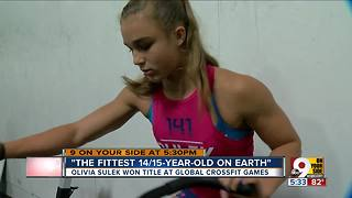 This 14-year-old CrossFit champion is probably fitter than you - Video
