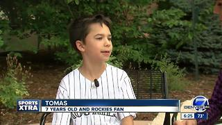 Tomas Colorado Kids Talk Sports - Video