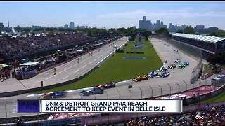 DNR, Detroit Grand Prix agree to keep race on Belle Isle through at least 2021 - Video