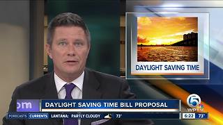 Florida lawmaker files proposal to end Daylight Saving Time - Video