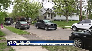 FBI conducting raids at Pontiac homes related to international drug trafficking ring