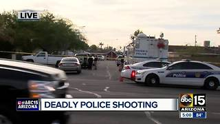 Phoenix police shoot, kill man who fired at officers - Video