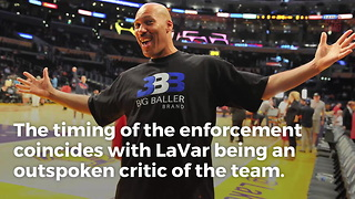 Lakers Finally Enforcing Rule To No Longer Allow Media To Interview Lavar Ball - Video