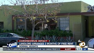 Landlord in Normal Heights gives tenants 3 months free rent