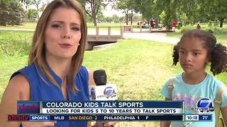 Colorado Kids Talk Sports- Broncos Edition - Video