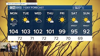 Lower temperatures are on the way