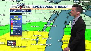 More storms likely later today - Video