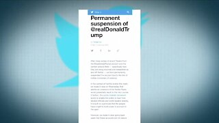 No, the First Amendment doesn't prevent being banned on Twitter