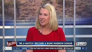 Become a bone marrow donor during be a match event - Video
