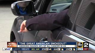 'The Great American Smokeout' - Video