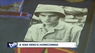 Remains of WNY Marine killed in Korean War is back in the U.S. - Video