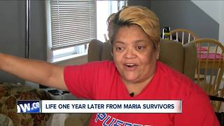 Life one year after Maria