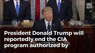 Trump Ending CIA Program That Armed, Trained Syrian Rebels - Video