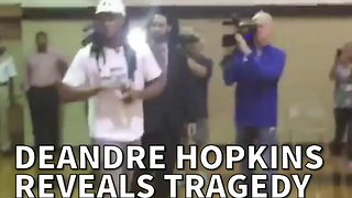 DeAndre Hopkins Reveals Tragedy From His Past To Raise Awareness - Video